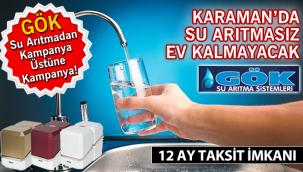 GÖK Su Arıtmadan kampanya üstüne kampanya