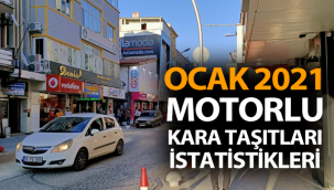 Karaman İli Motorlu Kara Taşıtları İstatistikleri
