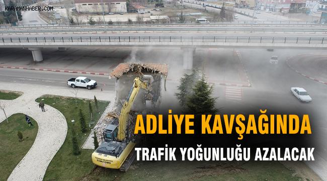 Adliye Kavşağında A Trafik Yoğunluğu Azalacak