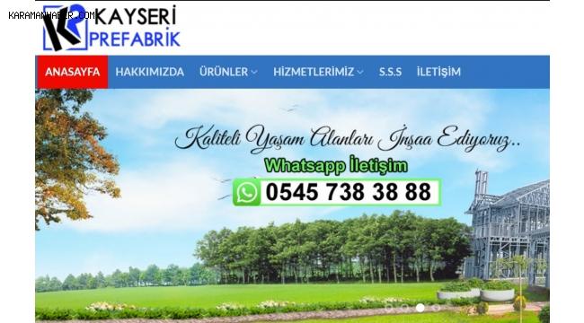 Kayseri Prefabrik Ev