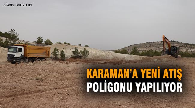 Karaman'a Yeni Atış Poligonu Yapılıyor