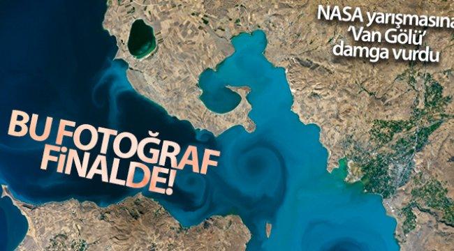 Van Gölü'nün uzaydan çekilen görseli finalde